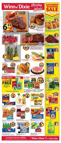 Winn Dixie Ad BOGO Jan 15 - 21, 2020
