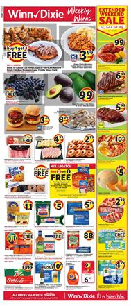 Winn Dixie Smithfield Ham Deals Jan 8 - 14, 2020