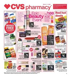 CVS Personal Care Mar 1 - 7, 2020 Sale - Weekly Ad Products