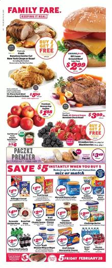 Family Fare Ad Mix or Match Sale Feb 23 29 2020