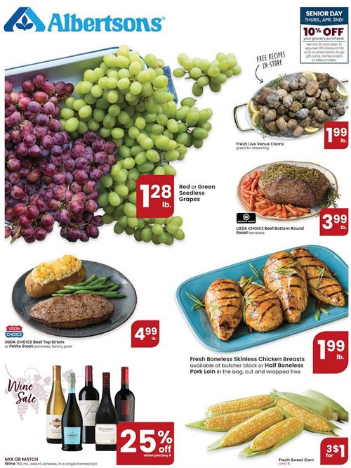 Albertsons Weekly Ad Preview Apr 1 7 2020