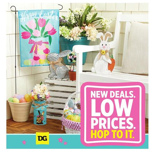 Dollar General Ad Easter Sale Mar Apr 2020