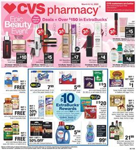 Epic Beauty Event Continues With Extrabucks | CVS Weekly Ad