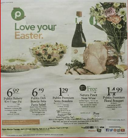 Publix Weekly Ad Preview Apr 1 7 2020