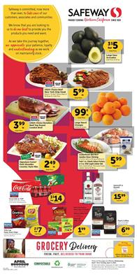 Safeway Weekly Ad Sale Apr 1 - 7, 2020