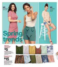 Target Ad Clothing Sale Mar 15 - 21, 2020