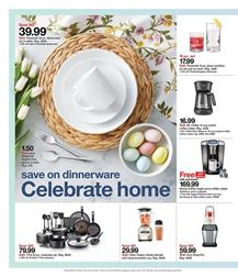 Target Weekly Ad Home Products Mar 22 - 28, 2020