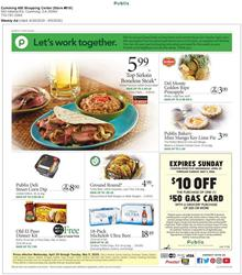 Publix Ad Grocery Sale Apr 29 - May 5, 2020