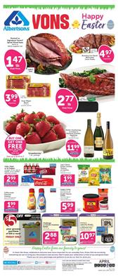 Vons Weekly Ad Easter Sale Apr 8 - 14, 2020