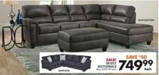 Big Lots Sectional Deal Weekly Ad Product
