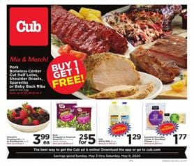 Cub Foods Ad Meat May 3 - 9, 2020