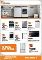 Home Depot Ad Appliances Sale May 21 28 2020