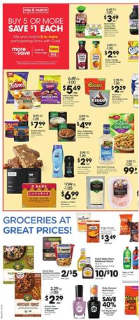 Kroger Grocery Sale Mix and Match May 13 - 19, 2020