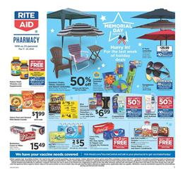 Rite Aid Memorial Day Sale May 17 - 23, 2020