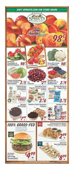 Sprouts Weekly Ad Sale May 27 - Jun 2, 2020