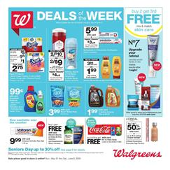 Walgreens Weekly Ad Online Coupons May 31 - Jun 6, 2020