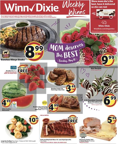 Winn Dixie Weekly Ad Preview May 6 12 2020
