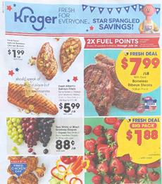 Kroger 4th of July Sale