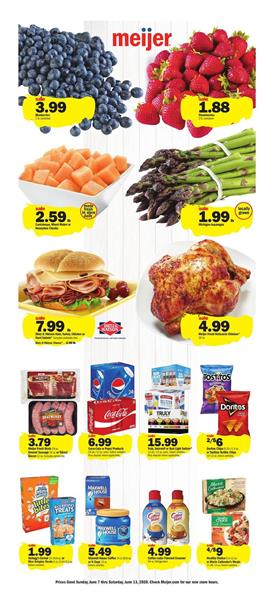 Meijer Ad Grocery Jun 7 - 13, 2020