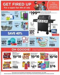 Ralphs Star Spangled Savings Jul 1 - 7, 2020