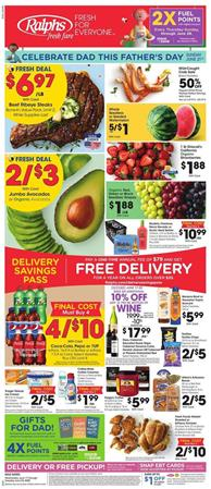Ralphs Weekly Ad Father's Day Jun 17 - 23, 2020