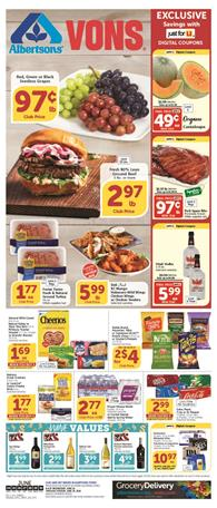 Vons Weekly Ad Grocery Jun 24 - 30, 2020