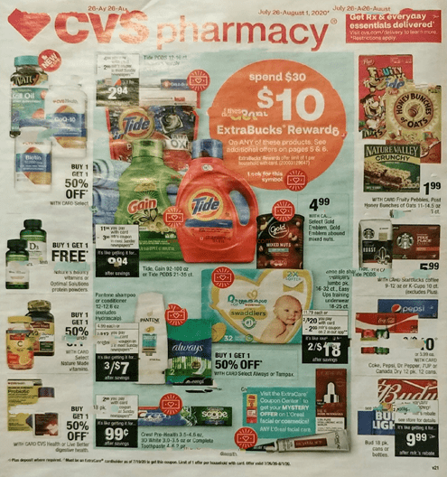 CVS Weekly Ad Preview Jul 26 - Aug 1, 2020
