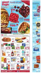 Giant Eagle Cherry Deal - 4th of July Sale