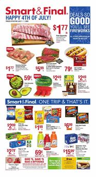 Smart and Final 4th of July Sale 2020