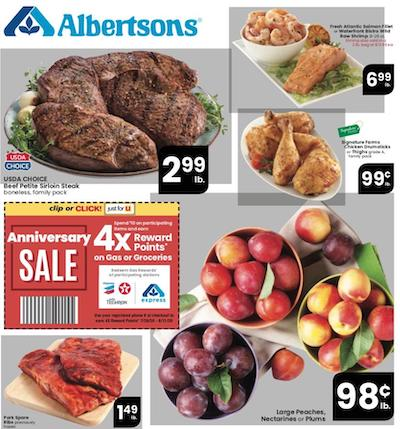 Albertsons Weekly Ad Preview Aug 5 11 2020