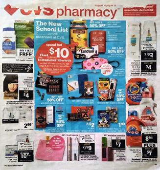 CVS Weekly Ad Preview Aug 16 22 2020