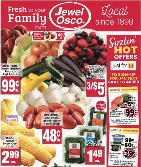 Jewel-Osco Weekly Ad Preview Aug 26 - Sep 1, 2020