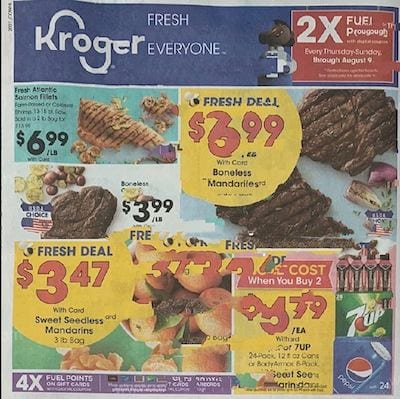 Kroger Weekly Ad Preview Aug 5 11 2020