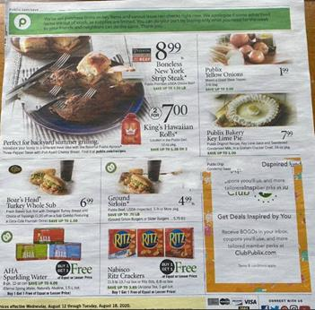 Publix Weekly Ad Preview Aug 12 18 2020