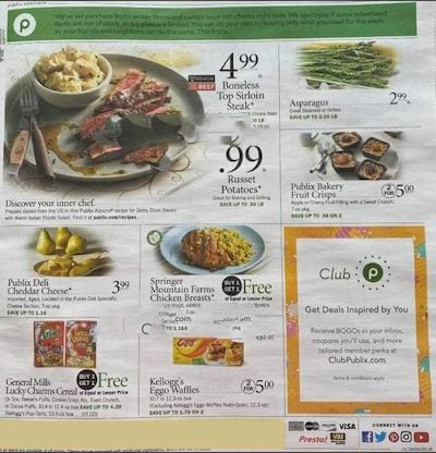 Publix Weekly Ad Preview Aug 5 11 2020