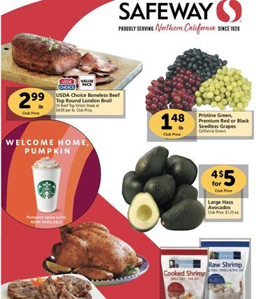 Safeway Weekly Ad Preview Aug 26 - Sep 1, 2020