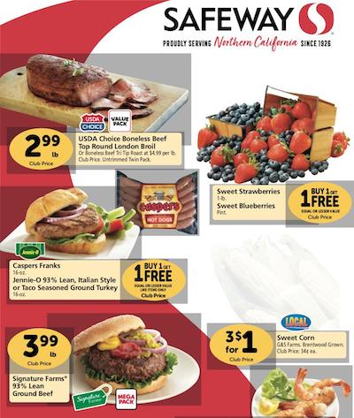 Safeway Weekly Ad Preview Aug 5 11 2020