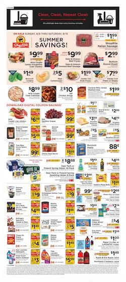 Shoprite Summer Savings Aug 9 - 15, 2020