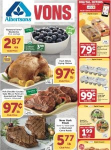 Vons Weekly Ad Preview Aug 26 - Sep 1, 2020