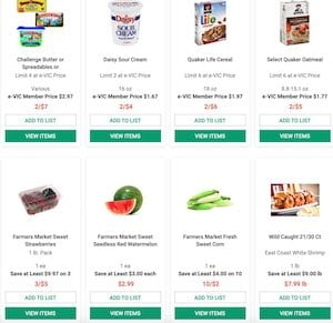 Harris Teeter BOGO Deals Sep 2 8 2020