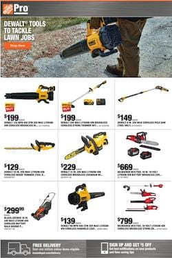 Home Depot Ad Blower Deals And More Sep 7 - 14, 2020