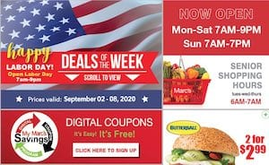 Marc's Weekly Ad Labor Day Sale Sep 2 - 8, 2020
