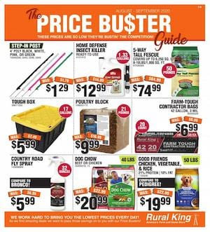 Rural King Ad Price Busters October 2020