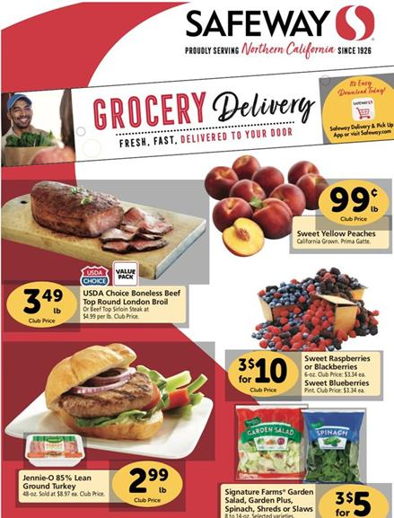 Safeway Weekly Ad Preview Sep 16 - 22, 2020