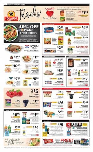 Shoprite Weekly Ad Perdue Fresh Poultry