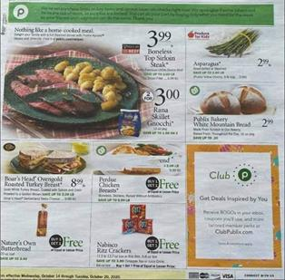 Publix Weekly Ad Oct 14 - 20, 2020