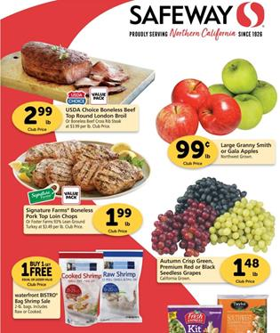 Safeway Weekly Ad Preview Oct 14 - 20, 2020