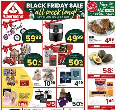 Albertsons Weekly Ad Preview Nov 27 - Dec 1, 2020