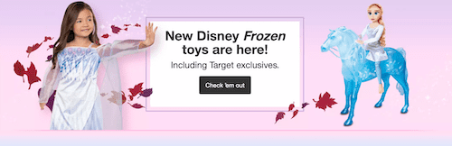 Disney Frozen 2 Toys at Target Black Friday