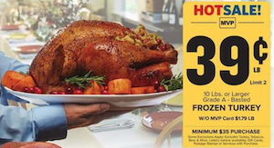 Food Lion Turkey Deal